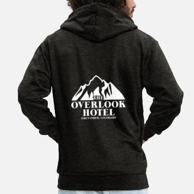 Tvserie The Overlook Hotel merch - Premium hættejakke mænd