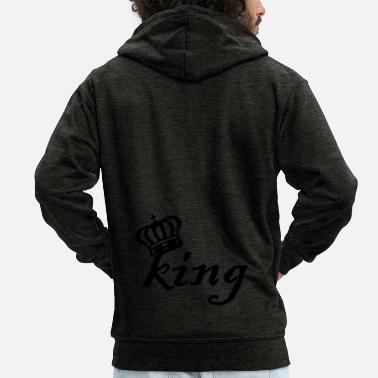 Couple King (I) Couples - Veste à capuche Premium Homme