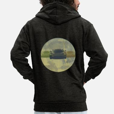 Sports Car Renwagen / cars / sports cars - Men's Premium Hooded Jacket