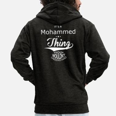 Mohamed Mohammed - Men's Premium Hooded Jacket
