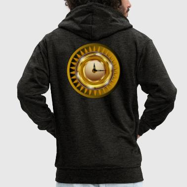 clockwork - Men's Premium Hooded Jacket