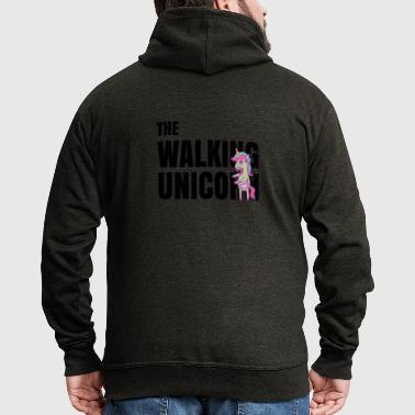 The Walking Unicorn - Zombie Einhorn - Männer Premium Kapuzenjacke