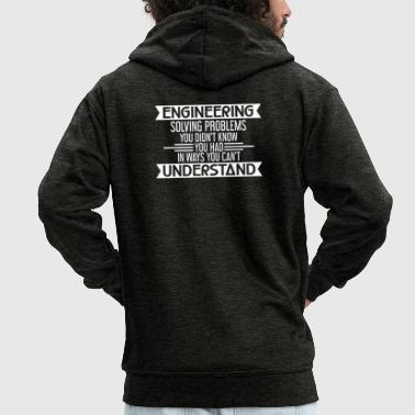 ENGINEERING - ENGINEERING - ENGINEERING - MECHANICAL ENGINEERING - Men's Premium Hooded Jacket