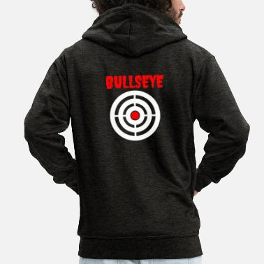 Bullseye Bullseye - Men's Premium Hooded Jacket