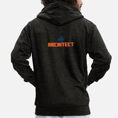 Architect architect - Men's Premium Hooded Jacket