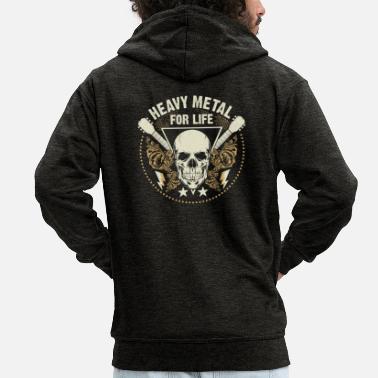 e93d1d6e0ea8 Metallarbetare Heavy Metal Metalcore Hard Rock Skull Gift - Premium zip  hoodie herr