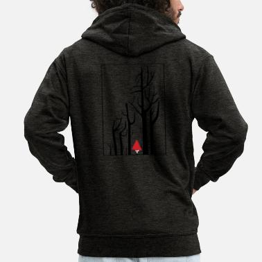 Grimm Red Riding Hood - Men's Premium Zip Hoodie