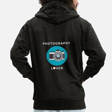 Photography Photography Lover - Men's Premium Hooded Jacket