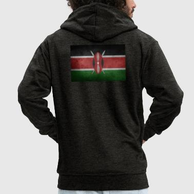 Kenya - Men's Premium Hooded Jacket