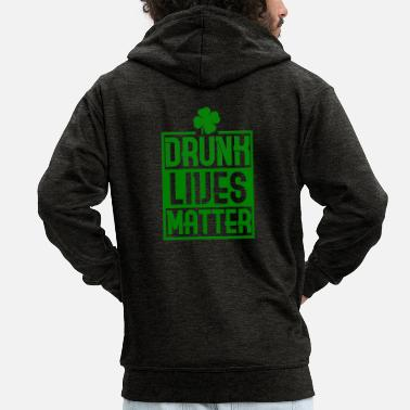 St St. Patrick's Day St Patrick's Day Holiday - Men's Premium Zip Hoodie