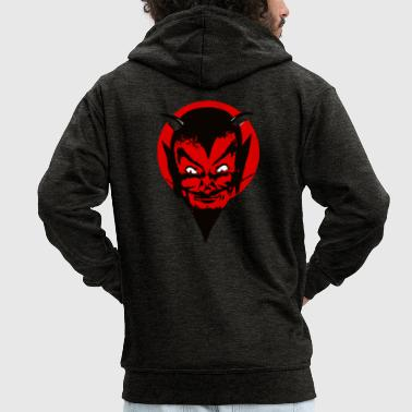 Devil Male devil - Men's Premium Hooded Jacket