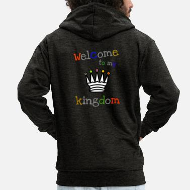Kingdom welcome kingdom - Men's Premium Zip Hoodie