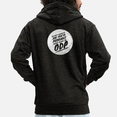 Odp Rewarding job - Men's Premium Zip Hoodie