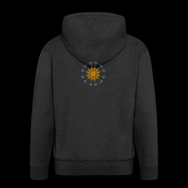 Mandala 60 - Men's Premium Hooded Jacket