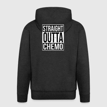 Straight Outta Chemo - Men's Premium Hooded Jacket