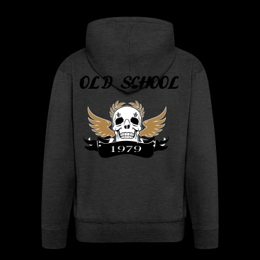 Old school1979 - Men's Premium Hooded Jacket