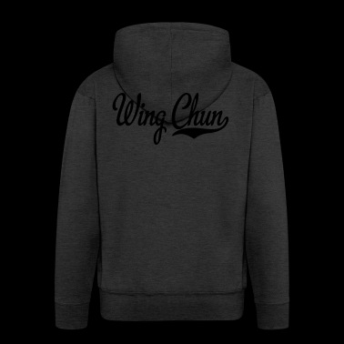 2541614 15440069 wing chun - Men's Premium Hooded Jacket