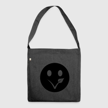 veggie smiley - Schultertasche aus Recycling-Material