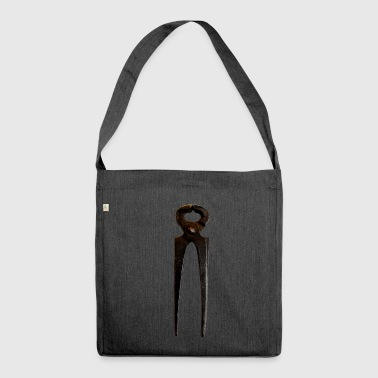 Rusty Pincers, rusty - Shoulder Bag made from recycled material