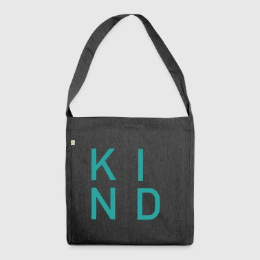 KIND - Schultertasche aus Recycling-Material