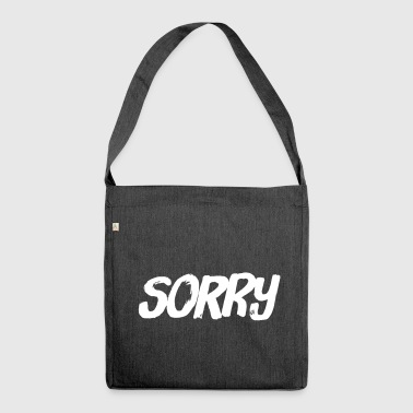 Sorry - Schultertasche aus Recycling-Material
