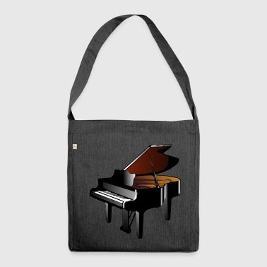 Grand piano - Shoulder Bag made from recycled material