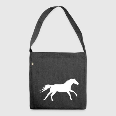 Horse galloping - Shoulder Bag made from recycled material