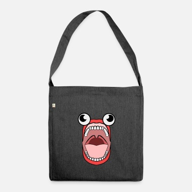 Jaws crazy Jaws - Shoulder Bag made from recycled material