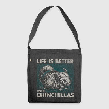 Chinchilla - Schultertasche aus Recycling-Material