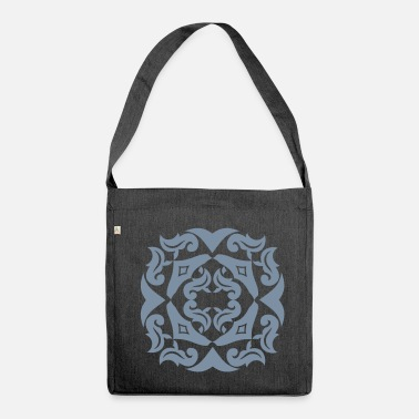 Silver SILVER bloom - Shoulder Bag made from recycled material