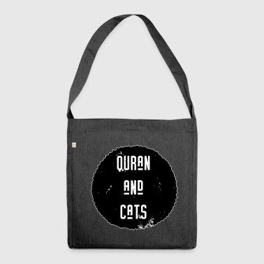 Quran and Cats - Shoulder Bag made from recycled material