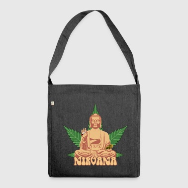 Nirvana 420 - Shoulder Bag made from recycled material