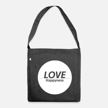 Happiness Love & Happiness - Sac bandoulière 100 % recyclé