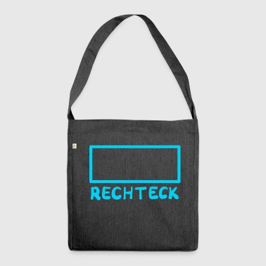 rectangle - Shoulder Bag made from recycled material