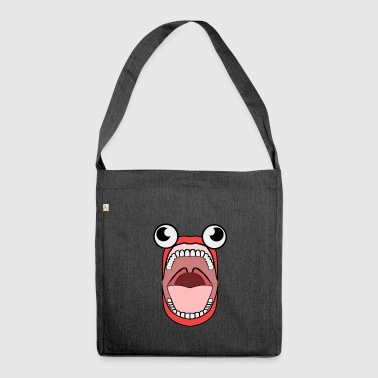 crazy Jaws - Shoulder Bag made from recycled material
