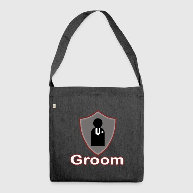 groom - Schultertasche aus Recycling-Material