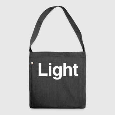 Light - Shoulder Bag made from recycled material