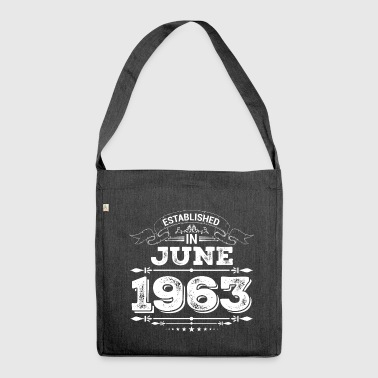 Established in June 1963 - Shoulder Bag made from recycled material