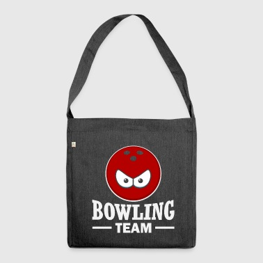 bowling team - Shoulder Bag made from recycled material