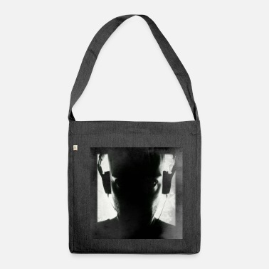 Jockey disc jockey - Shoulder Bag made from recycled material