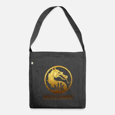 Kombat Mortal Kombat 11 logo - Shoulder Bag recycled