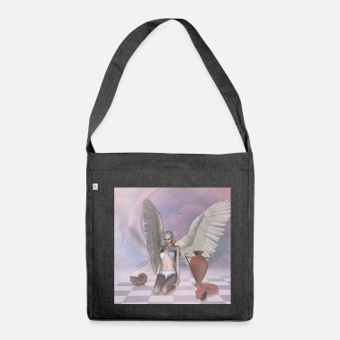 Fallen Angel The wonderful fallen angel - Shoulder Bag recycled