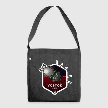 Space Race Series: VOSTOK (Large print) - Shoulder Bag made from recycled material