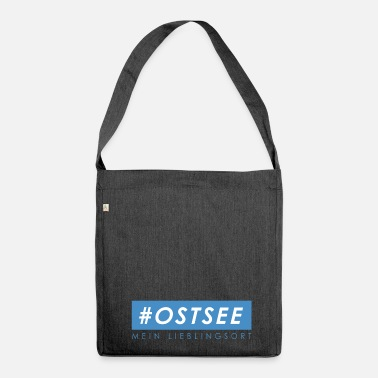 Ostsee #ostsee - Schultertasche aus Recycling-Material