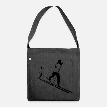 Cross Country Skiing gxp ski cross-country skiing - cross-country skiing - Shoulder Bag made from recycled material