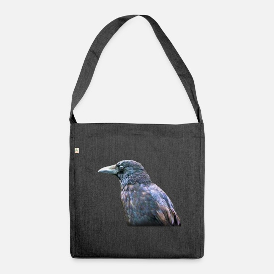 Raven Bags & Backpacks - Crow Profile - Shoulder Bag recycled heather black