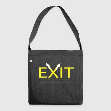 Exit - Shoulder Bag made from recycled material