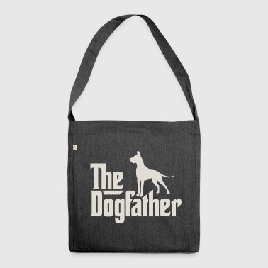 The Dogfather - German Danish Mastiff - Shoulder Bag made from recycled material