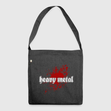 Heavy Metal - Borsa in materiale riciclato