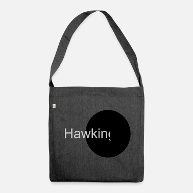 Black Hawk hawking - Shoulder Bag made from recycled material